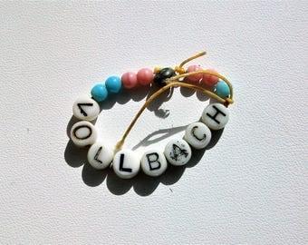 Vintage Hospital Beaded Baby Bracelet Vollbach