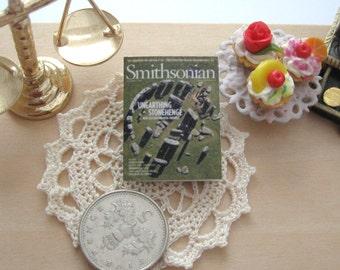 dollhouse british stonehenge   magazine 12th scale miniature