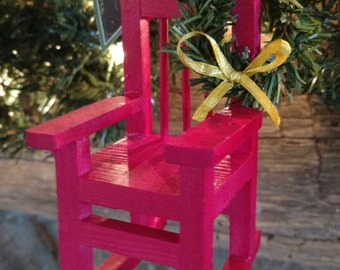 Christmas in Heaven Chair Ornament