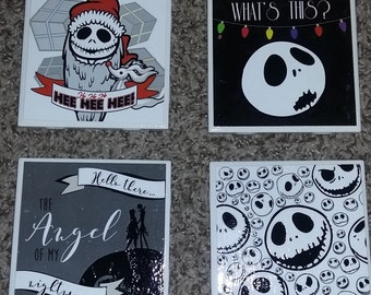 The Nightmare Before Christmas Coasters
