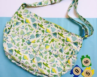 Dinosaur print Baby changing bag, nappy bag, diaper bag, baby shower gift,