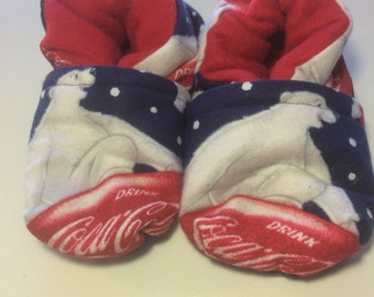 Coca-Cola Polar Bear Baby Booties (fits most 0 - 18 months)