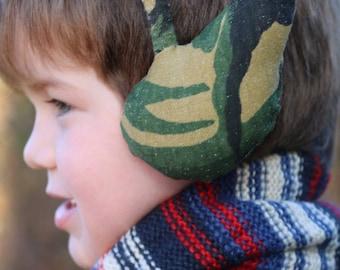 Fable, Earmuff, Headband PDF sewing pattern, Tiara, Troll ears, Deer ears, Bear ears, Crown, Cat ears, Fox ears