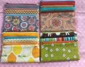Zip Pouches - Reserved for A C