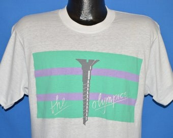 80s Screw The Olympics Deadstock t-shirt Large