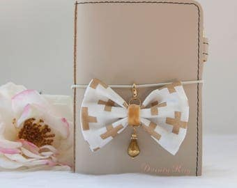 Elegance Collection Planner Bow Charm