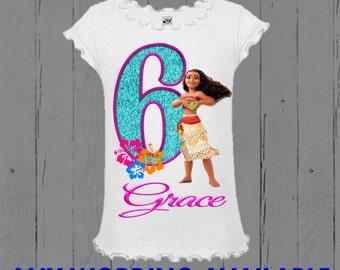 Moana Shirt - Moana Birthday Shirt