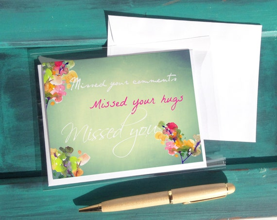 Missed you jw greeting cards