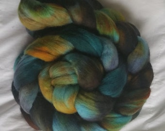 Hand Painted Merino Wool - Labradorite