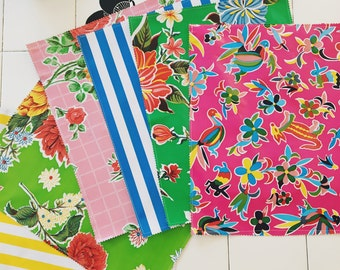 New Assorted set of 4 Oil Cloth Placemats