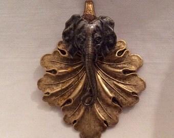 Napkin Ring, Elephant napkin ring, Hand-made Napkin Ring, Spoon Napkin Ring, Vintage Napkin Ring, Napkin Clip