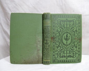 Goethe's Faust in Two Parts, Anna Swanwick Translator,  Published by American circa 1900's Antique Book, Johann Wolfgang von Goethe Tragedy