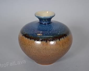 German Studio pottery ceramic   vase -    -