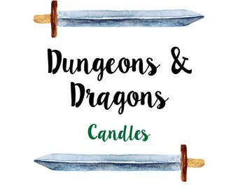 Tabletop, RPG, Dungeons and Dragons (DnD / D&D) environment enhancing candles