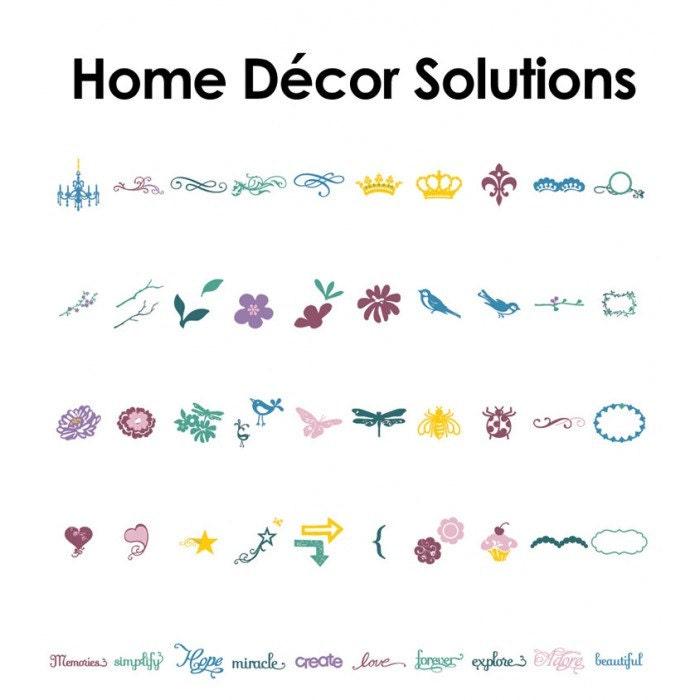Cricut Cartridge Home Decor: Solutions Cartridge