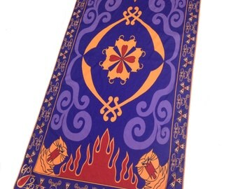 Aladdin Magic Carpet Inspired Towel