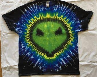 Alien Shirt - tie dyed t-shirt