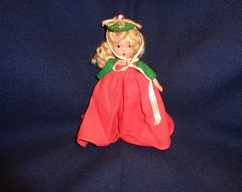 "Nancy Ann Storybook Doll Seasons Series ""Winter"" #93"