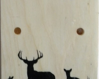 Maine Made Boot Jack 3 deer pix