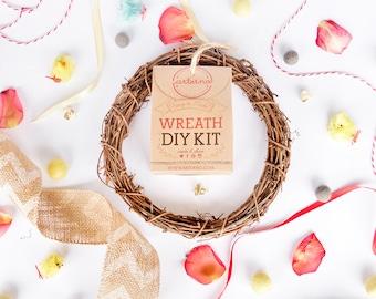 DIY Kit Easter Wreath | Craft kit
