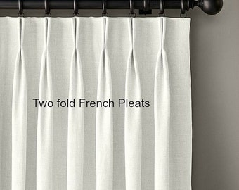 COM drapes, lined, pleated, customers own material