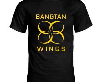BTS - Bangtan Boys WINGS K-pop T-Shirt