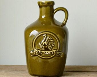 Vintage Elischer Stoneware Wine Jug