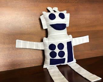 Ralph the Robot - Gray Stuffed Robot - Robot Plush - Robot Stuffed Animal