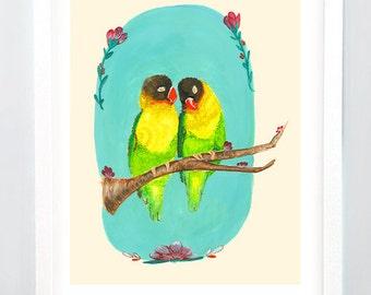 Love Birds Print