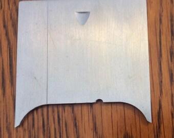 Singer slide plate, Touch & Sew 648, item 163477