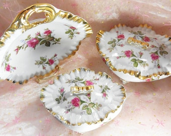 Dresser Dish and Trinket Boxes