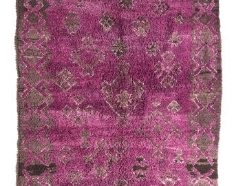 Vintage Moroccan Talsent Rug
