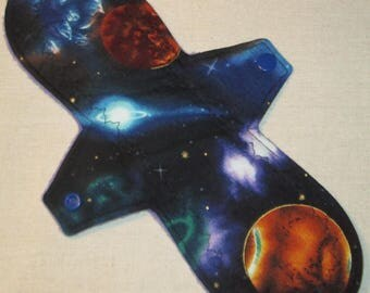 Space 'n Planets 11 in. Moderate Cloth Pad