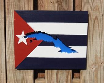 Flag as Wall Art - Cuba -