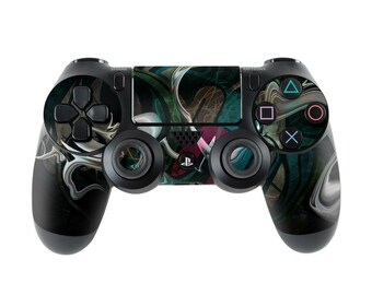 Sony PS4 Controller Skin Kit - Graffstract by Mat Miller - DecalGirl Decal Sticker