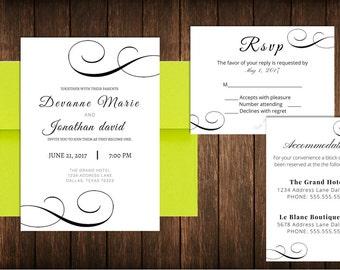 Traditional Invitation Suite