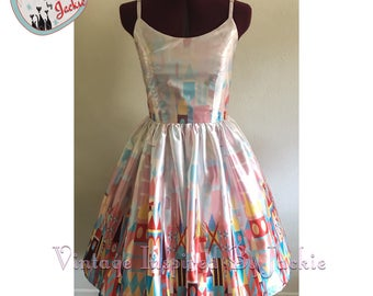 Small World Swing Dress