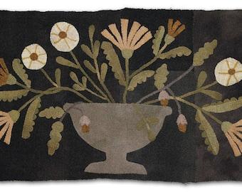 Pattern: Homestead Bouquet Wool Applique by Blackberry Primitives