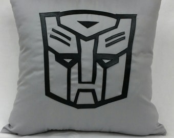 "Transformers Autobot Cushion Cover 18""x 18"""