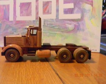 Wood Semi Truck #33