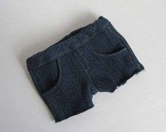 """18"""" Doll Demin Shorts - 18 Inch Girl Doll Clothes - American Made Doll Clothes"""