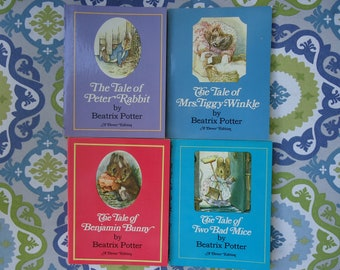 Beatrix Potter Books (set of 4)