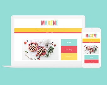 Responsive Wordpress Theme Maxene - Genesis Child Theme