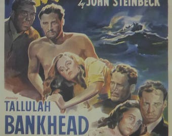 Lifeboat - Tallulah Bankhead  - Movie Poster - Framed Picture 11 x 14