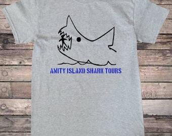 Amity Island Shark Tours T-Shirt