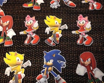 Sonic the Hedgehog Toppers