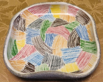 Mid Century Modernist Italian Marcello Fantoni Signed Studio Art Pottery Ceramic Italy