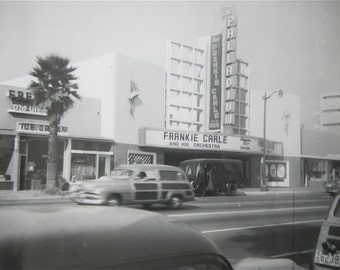 Original 1950's Hollywood Palladium Frankie Carle Snapshot Photo - Free Shipping