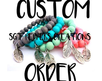 Order Cloudlands  X Friendship Bracelets With Customized Card