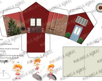 Andy house. DIGITAL PAPER HOUSE